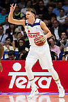 Real Madrid's player Luka Doncic during match of Liga Endesa at Barclaycard Center in Madrid. September 30, Spain. 2016. (ALTERPHOTOS/BorjaB.Hojas)