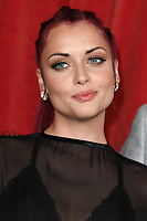 Shona McGarty<br /> arriving for The British Soap Awards 2019 at the Lowry Theatre, Manchester<br /> <br /> ©Ash Knotek  D3505  01/06/2019