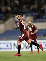 Calcio, Serie A: Roma, stadio Olimpico, 11 dicembre 2017.<br /> Torino's Tomas Rincon celebrates after scoring during the Italian Serie A football match between Lazio and Torino at Rome's Olympic stadium, December 11, 2017.<br /> UPDATE IMAGES PRESS/Isabella Bonotto