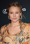 Kristen Bell attends The Darker ide of Green debate series moderated by Andy Samberg at The Palihouse in West Hollywood, California on July 08,2010                                                                               © 2010 Debbie VanStory / Hollywood Press Agency