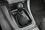 Gear shift detail view of a 2008 Toyota Tacoma Access Cab TRD