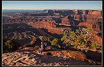 Sunrise Outside Imagery photo workshop at Dead Horse State Park, Utah.<br /> John Kieffer offers Canyonlands National Park photo tours. Year-round Dead Horse photo tours.