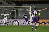 Valentin Eysseric of ACF Fiorentina scores a goal during the Serie A football match between ACF Fiorentina and Spezia Calcio at Artemio Franchi stadium in Firenze (Italy), February 19, 2021. Photo Image Sport / Insidefoto