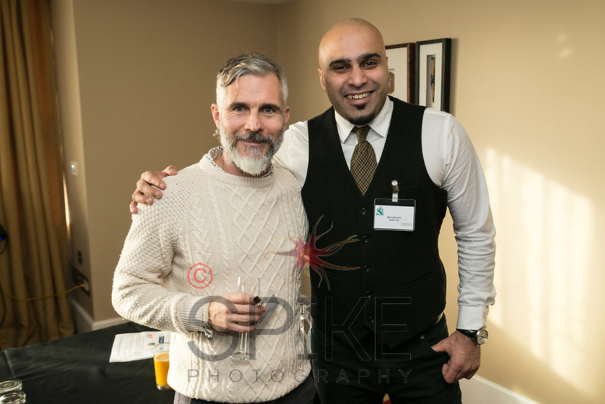 Johnny Wilson of Nottingham Physio and MarcellusBaz of Switch Up