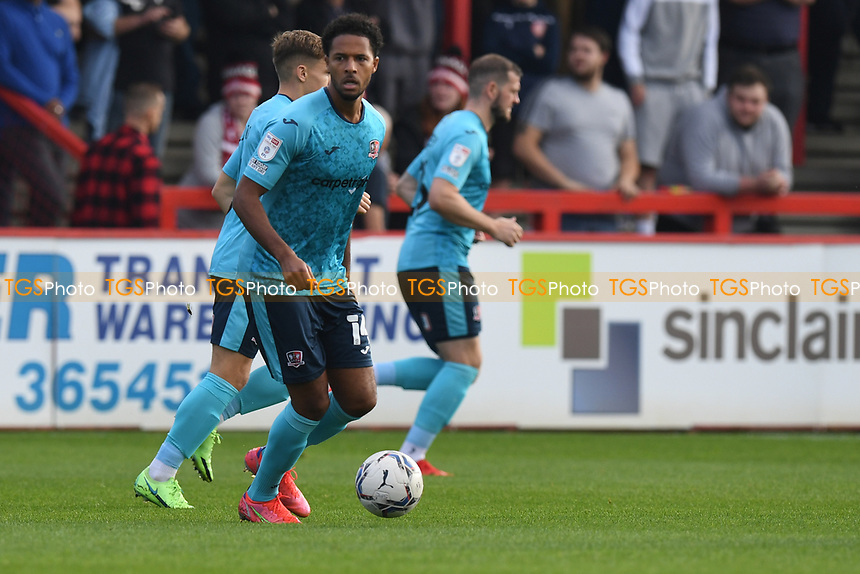 Chris Lines of Stevenage FC during Stevenage vs Exeter City, Sky Bet EFL League 2 Football at the Lamex Stadium on 9th October 2021