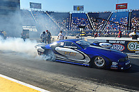 Jul, 8, 2011; Joliet, IL, USA: NHRA pro stock driver Frank Gugliotta during qualifying for the Route 66 Nationals at Route 66 Raceway. Mandatory Credit: Mark J. Rebilas-
