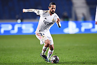 Nacho Fernandez of Real Madrid in action during the Champions League round of 16 football match between Atalanta BC and Real Madrid at Atleti azzurri d'Italia stadium in Bergamo (Italy), February, 24th, 2021. Photo Image Sport  / Insidefoto