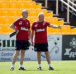 David Weir and Mark Warburton