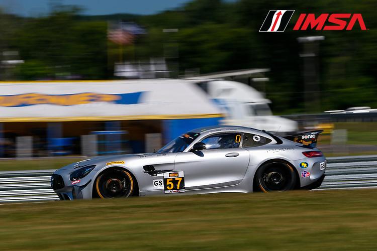 #57 Winward Racing / HTP Motorsport, Mercedes-AMG, GS: Bryce Ward, Indy Dontje