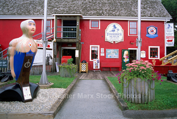 Old Town Lunenburg, a UNESCO World Heritage Site, NS, Nova Scotia, Canada - Fisheries Museum of the Atlantic