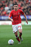 Josh Cullen of Charlton Athletic in action during Charlton Athletic vs Barnsley, Sky Bet EFL Championship Football at The Valley on 1st February 2020