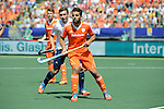 The Hague, Netherlands, June 13: Valentin Verga #10 of The Netherlands looks on during the field hockey semi-final match (Men) between The Netherlands and England on June 13, 2014 during the World Cup 2014 at Kyocera Stadium in The Hague, Netherlands. Final score 1-0 (1-0)  (Photo by Dirk Markgraf / www.265-images.com) *** Local caption ***