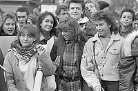 - Milan, student demonstration (February 1986)<br /> <br /> - Milano, manifestazione studentesca (febbraio 1986)