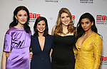 """Erin Neufer, Jessica Naimy, Tara Summers, Rana Roy attends the Broadway Opening Night After Party for """"Ink"""" at the Copacabana on April 24, 2019  in New York City."""