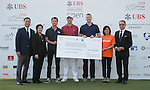 UBS Hong Kong Open golf tournament at the Fanling golf course on 25 October 2015 in Hong Kong, China. Photo by Xaume Olleros / Power Sport Images