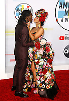 LOS ANGELES, CA - OCTOBER 09: Offset of Migos (L) and Cardi B attend the 2018 American Music Awards at Microsoft Theater on October 9, 2018 in Los Angeles, California. (Photo by imageSPACE/MediaPunch)