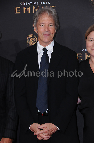 10 September  2017 - Los Angeles, California - David E. Kelley. 2017 Creative Arts Emmys - Arrivals held at Microsoft Theatre L.A. Live in Los Angeles. Photo Credit: Birdie Thompson/AdMedia