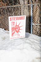 Mark Stewart - Campaign sign - Manchester, NH - 5 Feb 2020