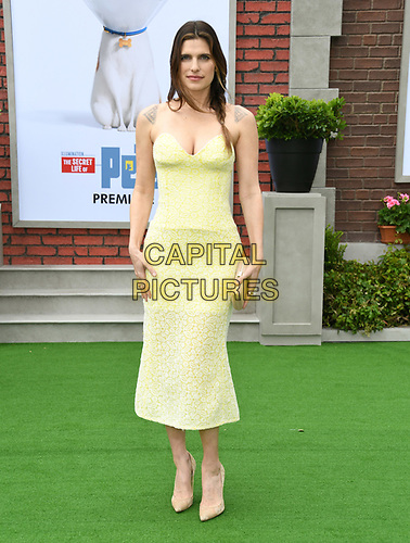 """02 June 2019 - Westwood, California - Lake Bell. """"The Secret Lives of Pets 2"""" Los Angeles Premiere held at Regency Village Theater. <br /> CAP/ADM/BT<br /> ©BT/ADM/Capital Pictures"""