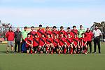 Canterbury 1 Team Photo. Round 3. Men's U18 Hockey Nationals, Gallagher Hockey Centre, Hamilton. Tuesday 13 July 2021. Photo: Simon Watts/www.bwmedia.co.nz