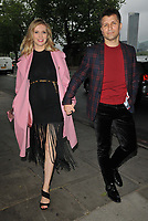"""Rachel Riley and Pavel """"Pasha"""" Kovalev at the Cabaret All Stars Presents:Denise van Outen cabaret show, Proud Embankment, Victoria Embankment, London on Friday 04 June 2021 in London, England, UK. <br /> CAP/CAN<br /> ©CAN/Capital Pictures"""