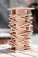 Gianluca Peluffo, Architecture Model in ceramic of the IULM Milano, Architecture Studio, Albissola