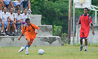 Timorese students play soccer in the Liquica district of Timor-Leste (East Timor).