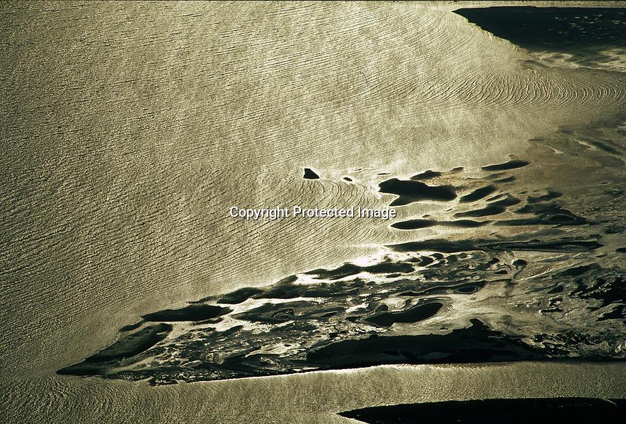 Deutschland, Nordsee, Wattenmeer, Sandbank, Wasser