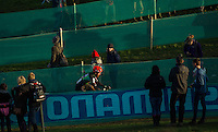 29 NOV 2014 - MILTON KEYNES, GBR - Mark McConnell (CAN) from Canada makes his way round the course during the men's 2014-2015 UCI Cyclo-Cross World Cup round at Campbell Park in Milton Keynes, Great Britain (PHOTO COPYRIGHT © 2014 NIGEL FARROW, ALL RIGHTS RESERVED)