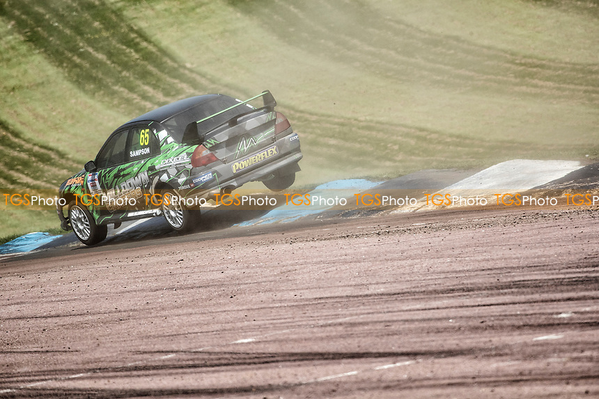 Bradley Sampson, Mitsubishi Lancer Evolution, Retro 4WD during the 5 Nations BRX Championship at Lydden Hill Race Circuit on 31st May 2021
