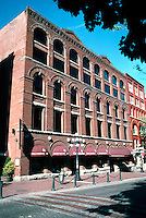 Vancoouver: Gastown--Hudson House, 321 Water St. c. 1897. Alterations, 1977. Richardsonian Romanesque, possibly W.T. Dalton. A warehouse for 60 years, now offices and retail