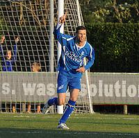 SV Rumbeke - SV Kortrijk..Nico Vereecke scoort de 2-0..foto VDB / BART VANDENBROUCKE