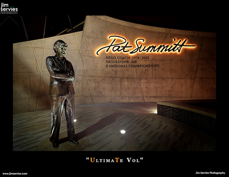 Legendary Head Coach Pat Summitt - The Ultimate Tennessee Volunteer.