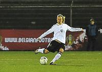 U17  Netherlands - U17 Germany : Michaele Specht.foto DAVID CATRY / Vrouwenteam.be