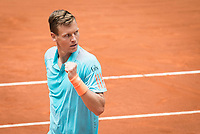 Czech Tomas Berdych during Mutua Madrid Open Tennis 2017 at Caja Magica in Madrid, May 10, 2017. Spain.<br /> (ALTERPHOTOS/BorjaB.Hojas) /NortePhoto.com **NortePhoto.com