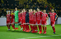 Bayern celebrates 3:0 <br /> Football / DFL Bundesliga  /  2017/2018 / 04.11.2017 / BVB Borussia Dortmund vs. FC Bayern Muenchen FCB *** Local Caption *** © pixathlon<br /> Contact: +49-40-22 63 02 60 , info@pixathlon.de