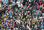 Ballyea fans in the stand during the All-Ireland Club Hurling Final at Croke Park. Photograph by John Kelly.