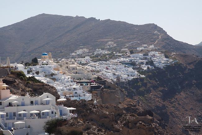 Cliffs of Oia Santorini