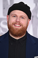 Tom Walker<br /> arriving for the BRIT Awards 2019 at the O2 Arena, London<br /> <br /> ©Ash Knotek  D3482  20/02/2019<br /> <br /> *images for editorial use only*