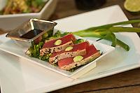 Ocean Grill Tuna Entree<br /> Mongoose Junction<br /> Cruz Bay, St. John<br /> U.S. Virgin Islands