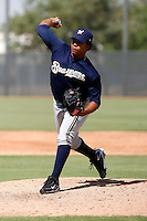 Wily Peralta - Milwaukee Brewers 2009 Instructional League.Photo by:  Bill Mitchell/Four Seam Images..