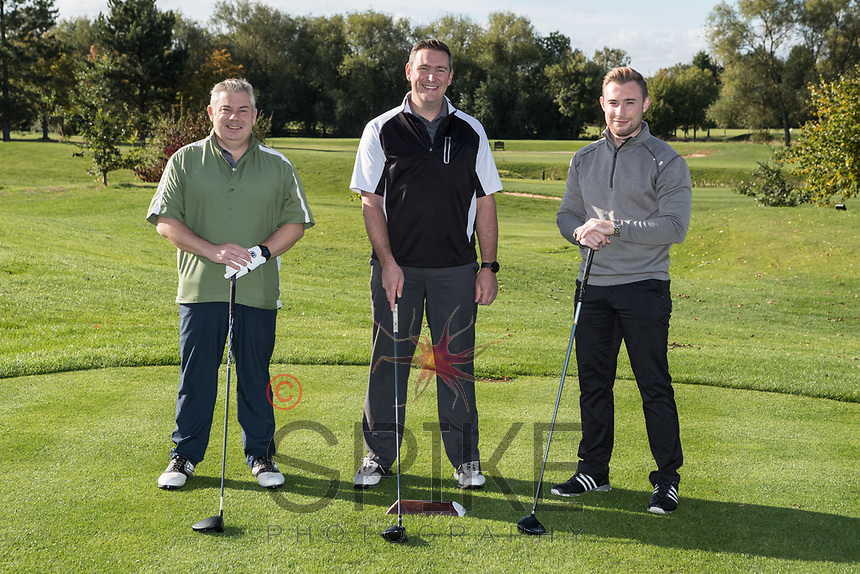 From left are Rob Derby, Dan Bowtell and Alex Thompson of Team Smith Cooper