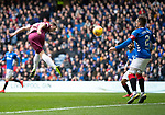 Rangers v St Johnstone…16.02.19…   Ibrox    SPFL<br />Chris Kane's header is saved by Wes Foderingham<br />Picture by Graeme Hart. <br />Copyright Perthshire Picture Agency<br />Tel: 01738 623350  Mobile: 07990 594431
