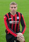 Connor McLaren, St Johnstone FC...Season 2014-2015<br /> Picture by Graeme Hart.<br /> Copyright Perthshire Picture Agency<br /> Tel: 01738 623350  Mobile: 07990 594431
