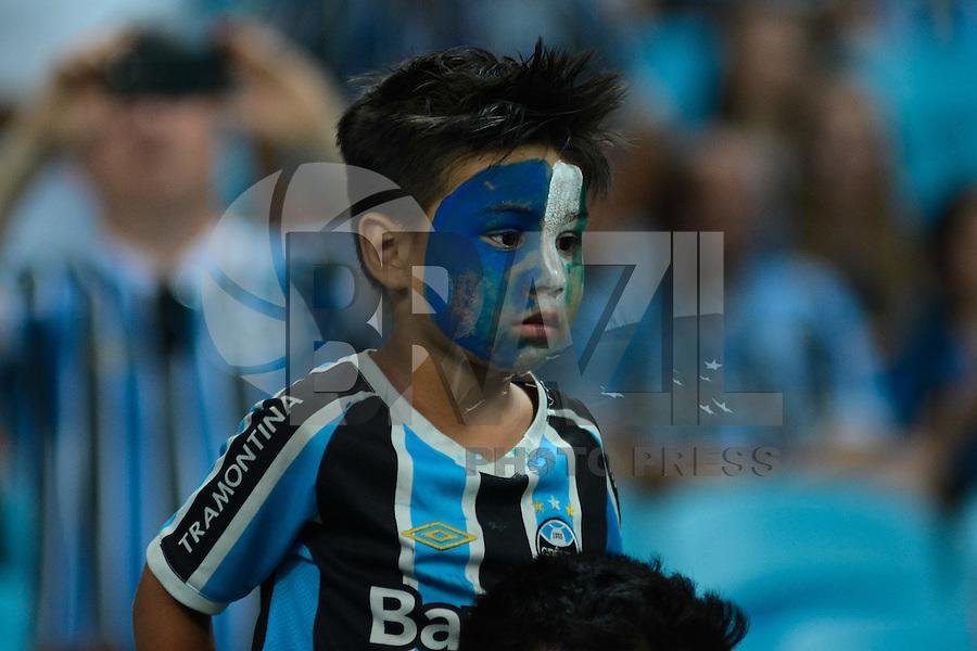 PORTO ALEGRE, RS, 07.12.2016 - GRÊMIO- ATLÉTICO-MG - Torcedores do Grêmio antes da partida contra o Atlético-MG, válida pela final da Copa do Brasil 2016, na Arena do Grêmio, nesta quarta-feira.(Foto: Rodrigo Ziebell/Brazil Photo Press)