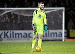 St Johnstone v Celtic…..29.01.20   McDiarmid Park   SPFL<br />Saints keeper Zander Clark<br />Picture by Graeme Hart.<br />Copyright Perthshire Picture Agency<br />Tel: 01738 623350  Mobile: 07990 594431