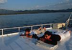 .Cruise in Croatia. Island of Dalmatia