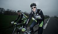 Paris-Roubaix 2012 recon..Jens Keukeleire