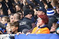 Polizei im Darmstaedter Block - 28.10.2017: SV Darmstadt 98 vs. Holstein Kiel, Stadion am Boellenfalltor, 2. Bundesliga