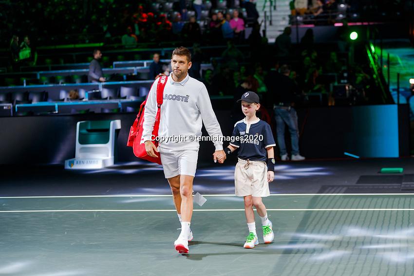 Rotterdam, The Netherlands, 15 Februari 2020, ABNAMRO World Tennis Tournament, Ahoy,<br /> Filip Krajinovic (SRB).<br /> Photo: www.tennisimages.com